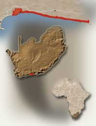 Map of Tsitsikamma Reserve